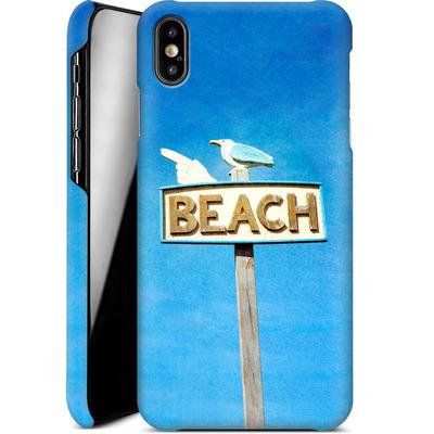 Apple iPhone XS Max Smartphone Huelle - Beach von Joy StClaire