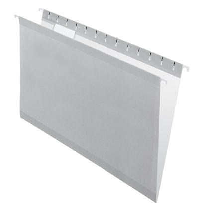 Pendaflex@ Reversaflex@ Premium Reinforced Hanging Folder, Legal Size, 25/Box - Grey 486704