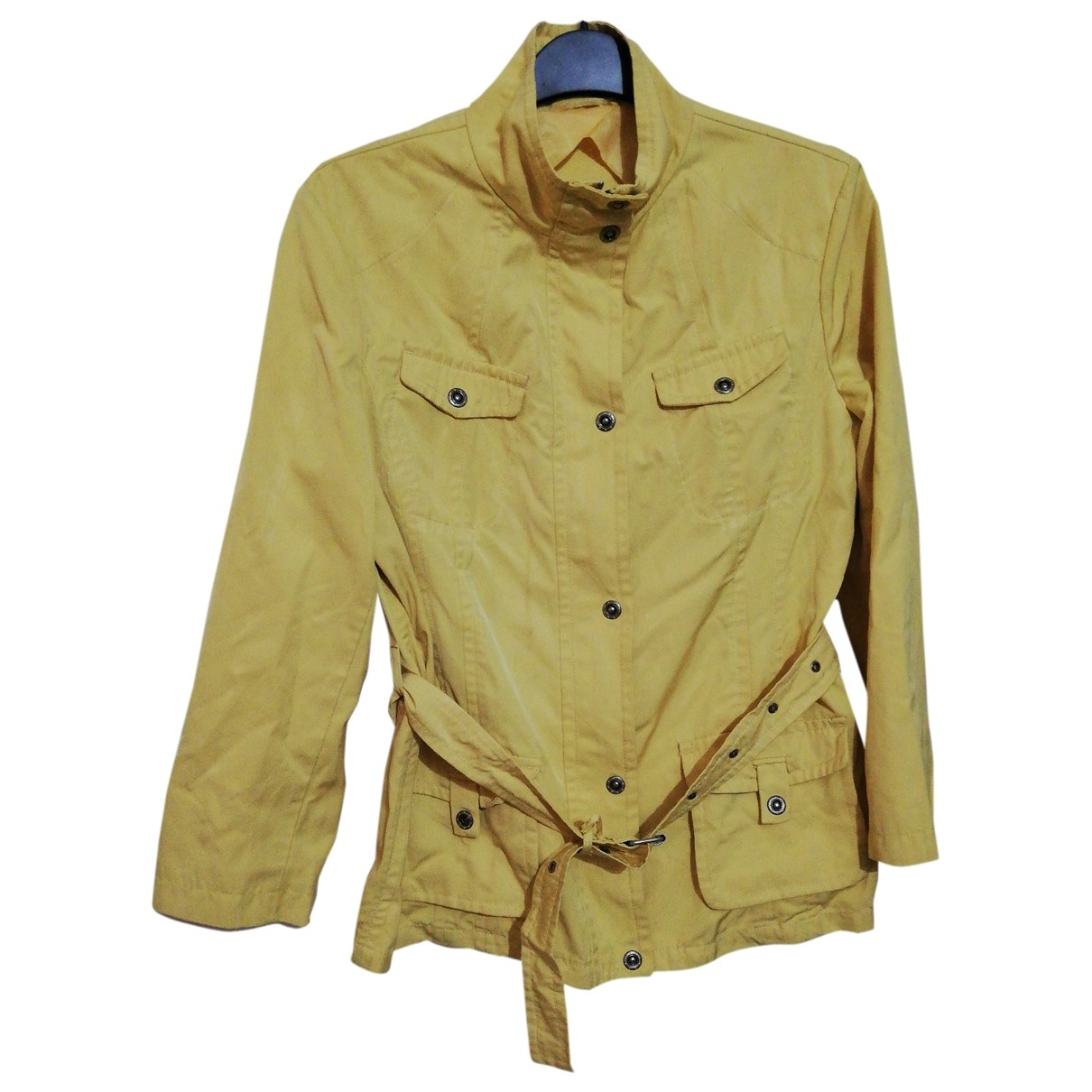 Max Mara Weekend \N Jacke in  Gelb Polyester