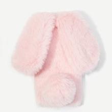 Rabbit Ear Fluffy iPhone Case