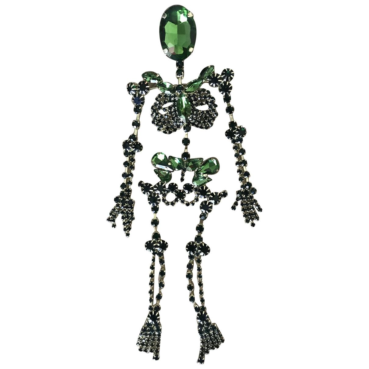Gcds \N Green Metal Pins & brooches for Women \N