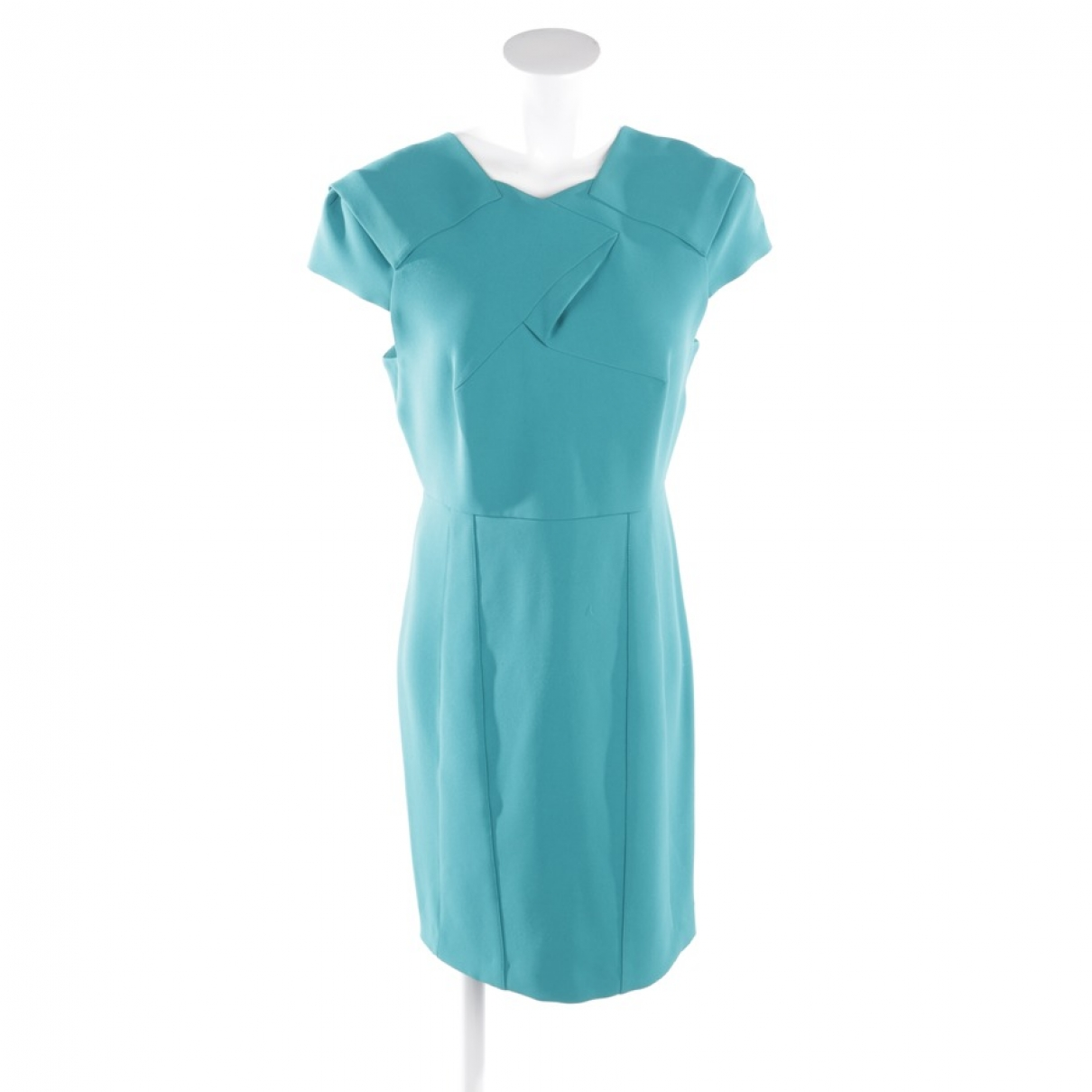 Roland Mouret \N Kleid in  Blau Synthetik