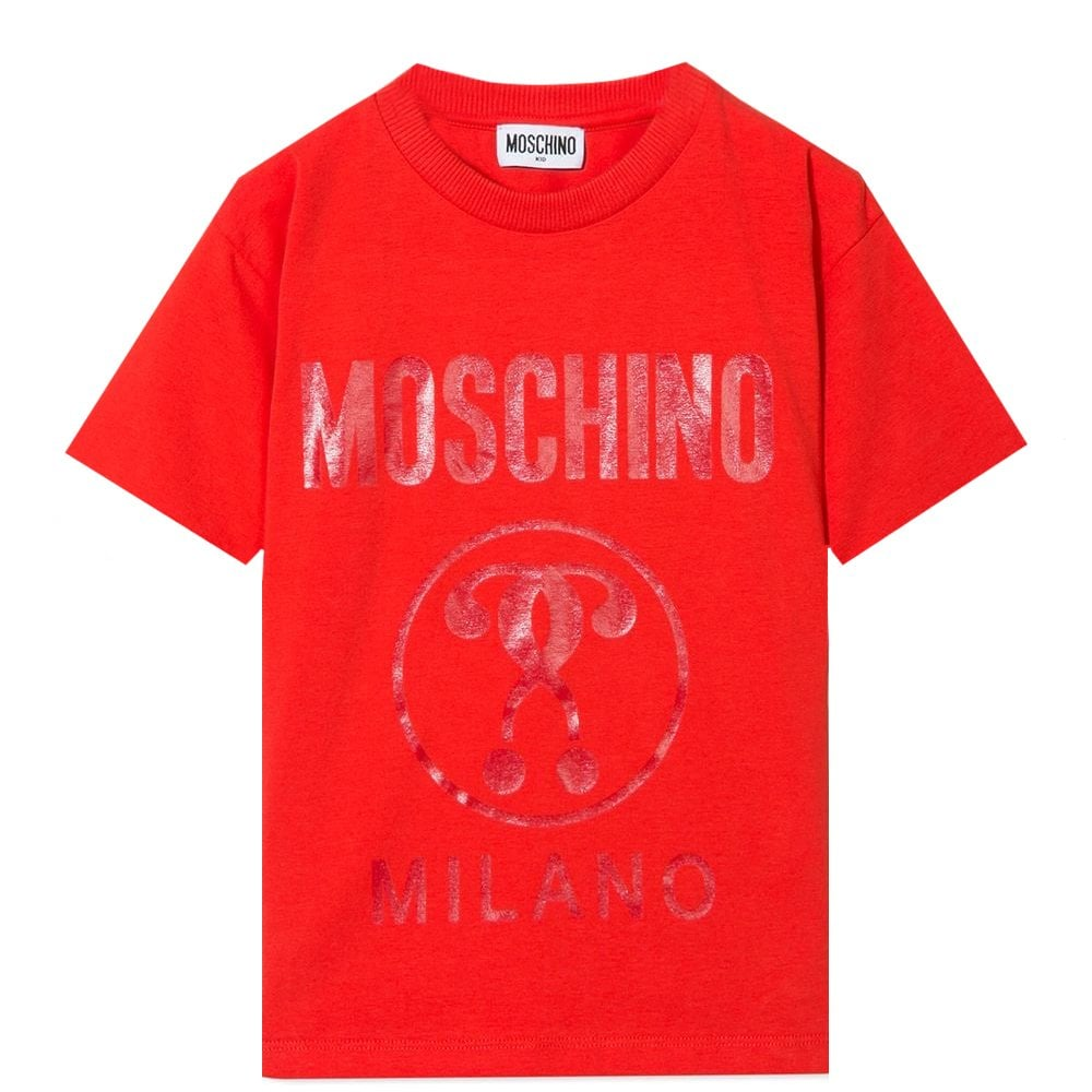 Moschino Undershirt Colour: RED, Size: 10 YEARS
