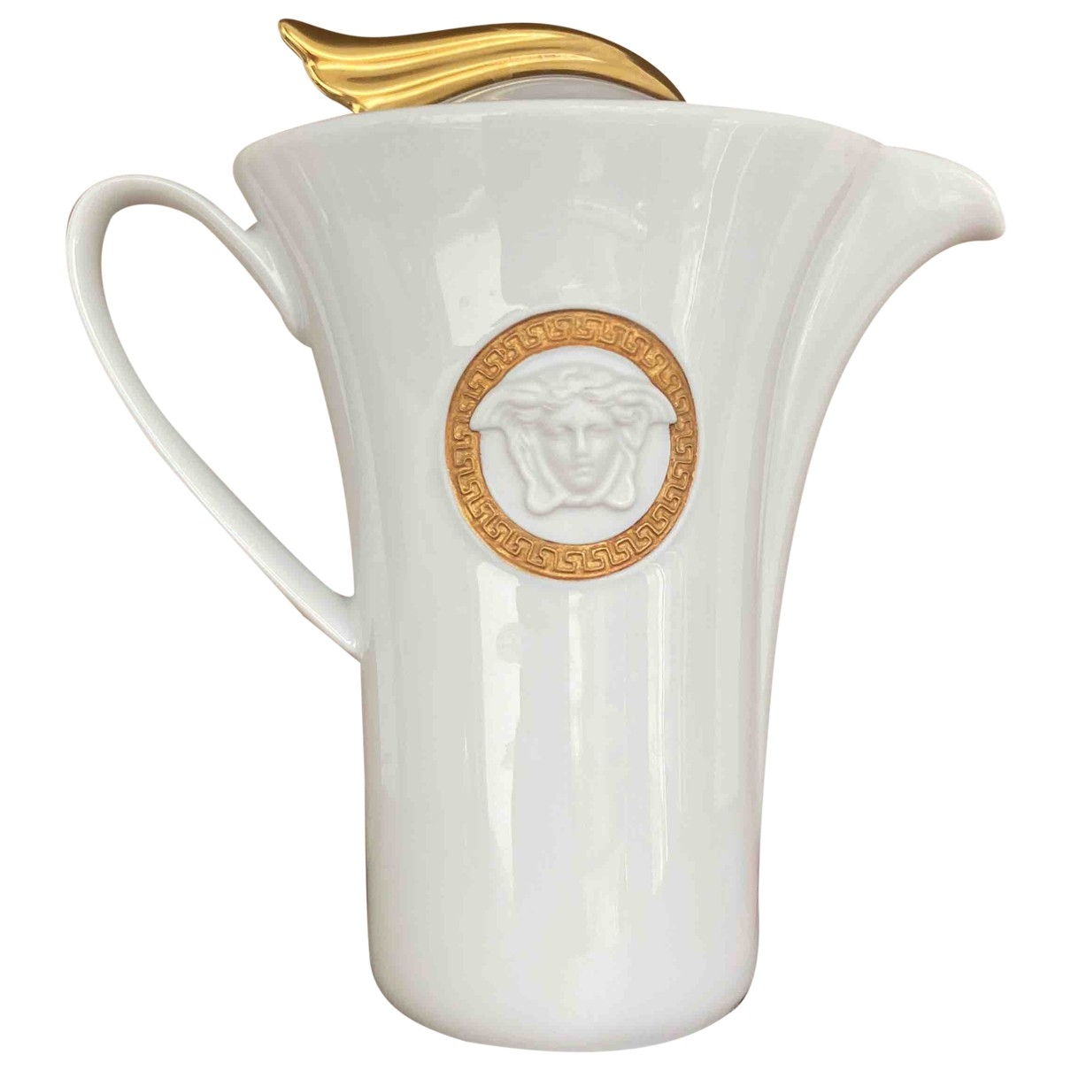 Versace - Arts de la table   pour lifestyle en porcelaine - blanc