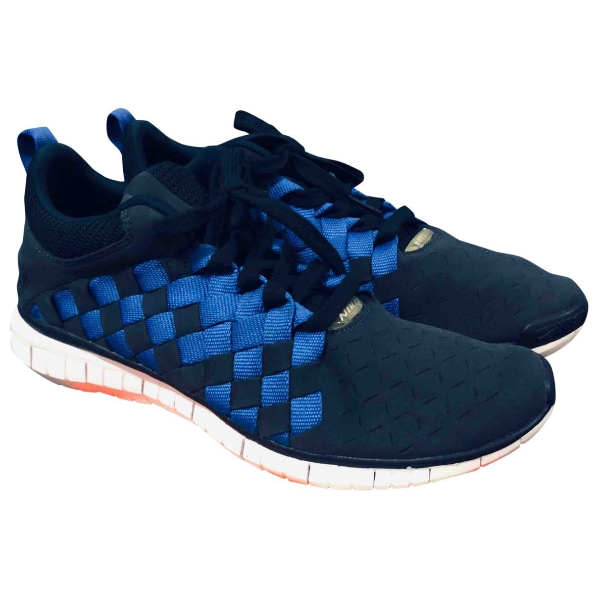 Nike Free Run Sneakers in  Blau Polyester