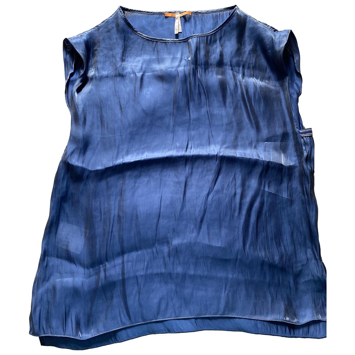 Boss Orange \N Top in  Blau Polyester