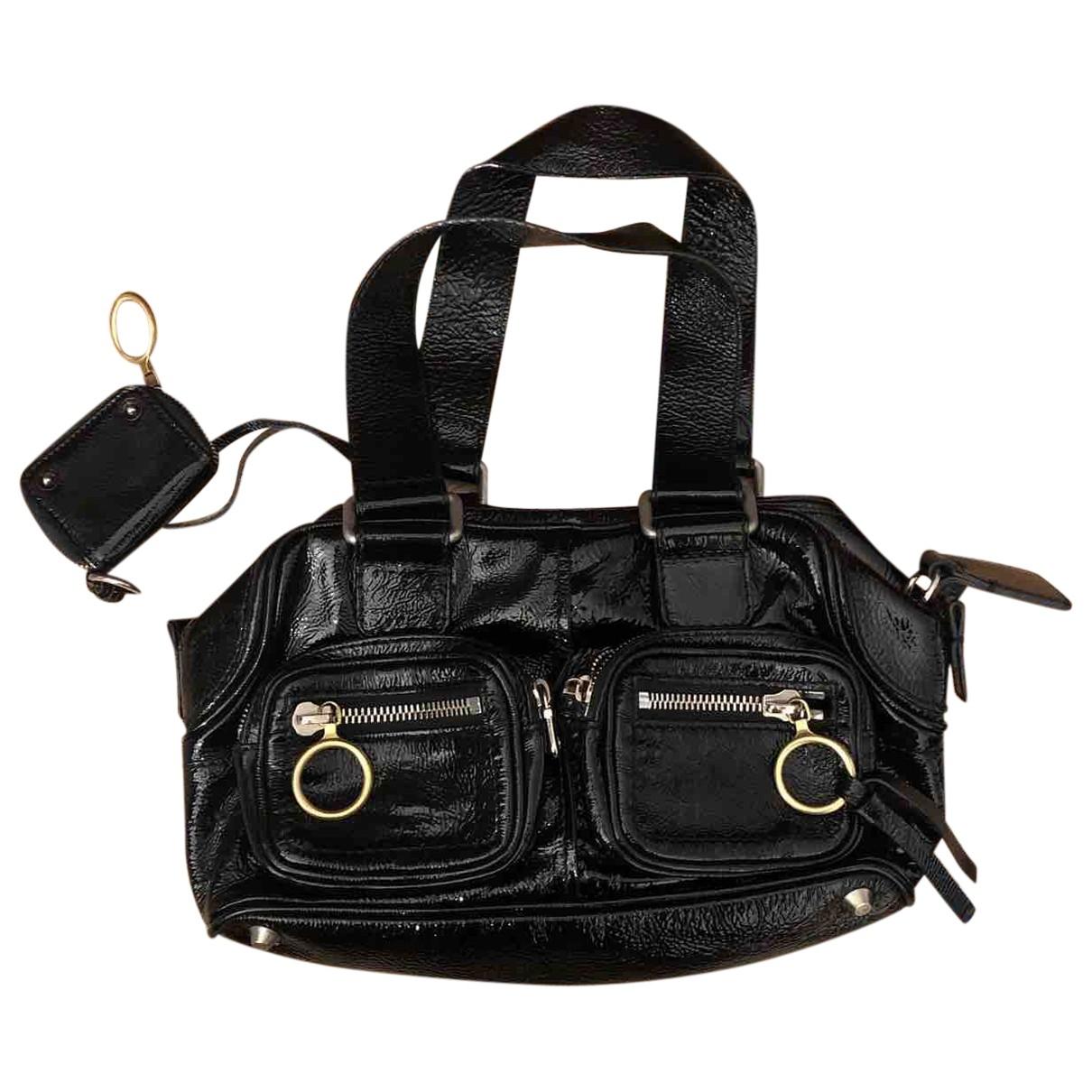 Chloé \N Black Patent leather handbag for Women \N