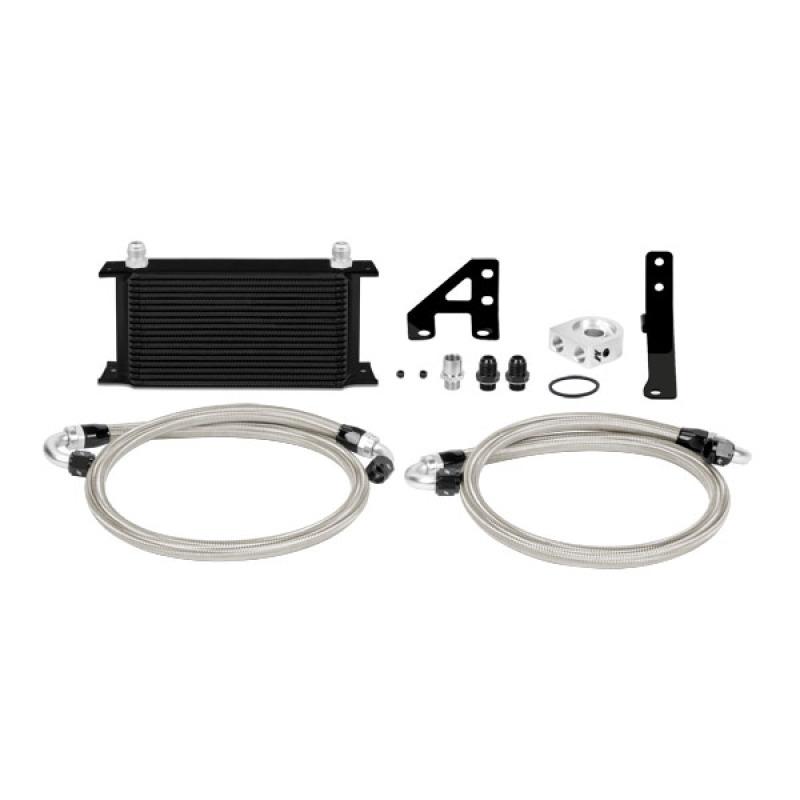 Mishimoto MMOC-STI-15TBK Thermostatic Oil Cooler Kit Subaru STI 2015