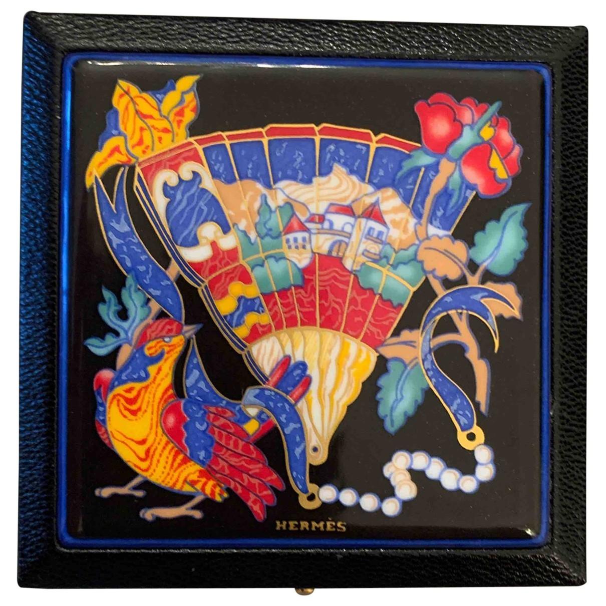 Hermes \N Accessoires und Dekoration in  Bunt Glas