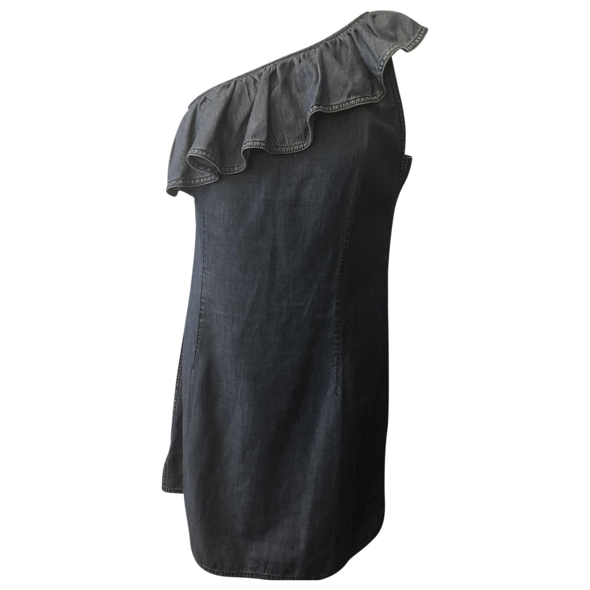 Prada N Blue Cotton dress for Women 44 IT