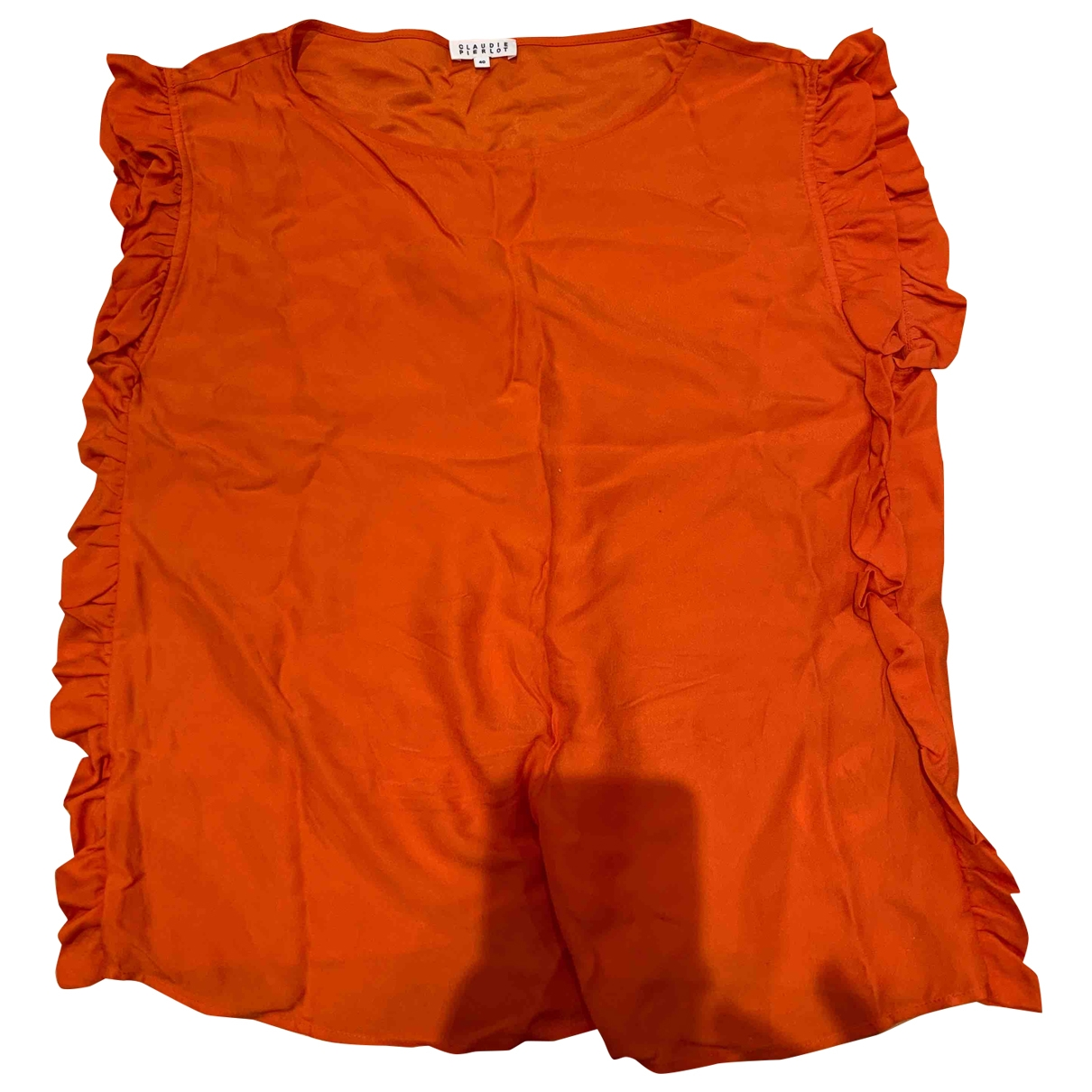 Claudie Pierlot - Top   pour femme - orange