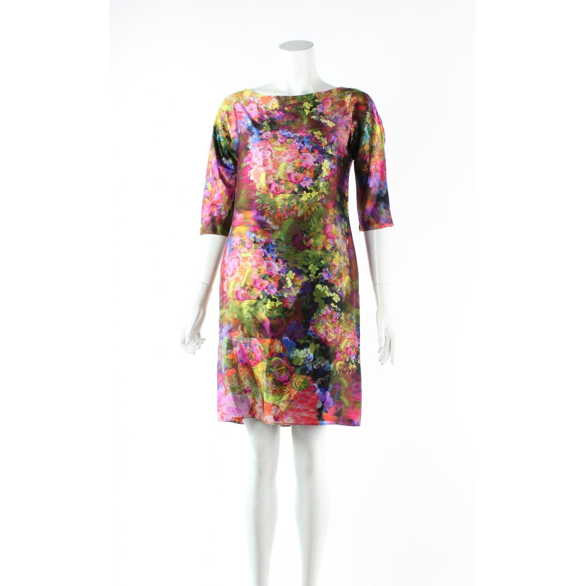 Erdem N Multicolour Silk dress for Women 8 UK