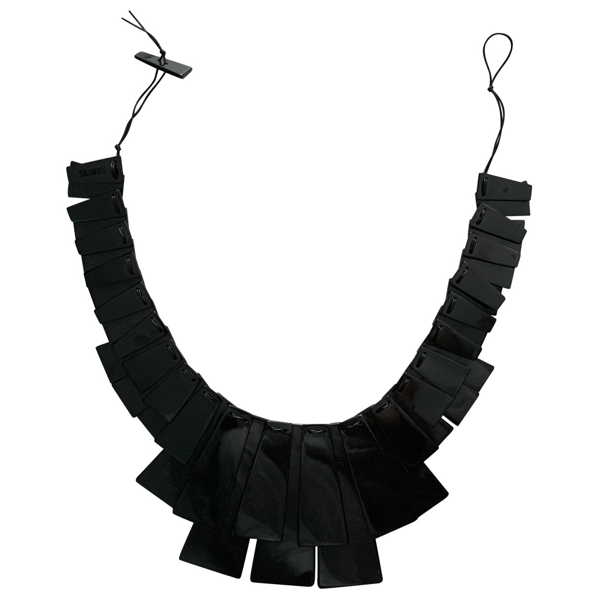 Karl Lagerfeld \N Kette in  Schwarz Kunststoff