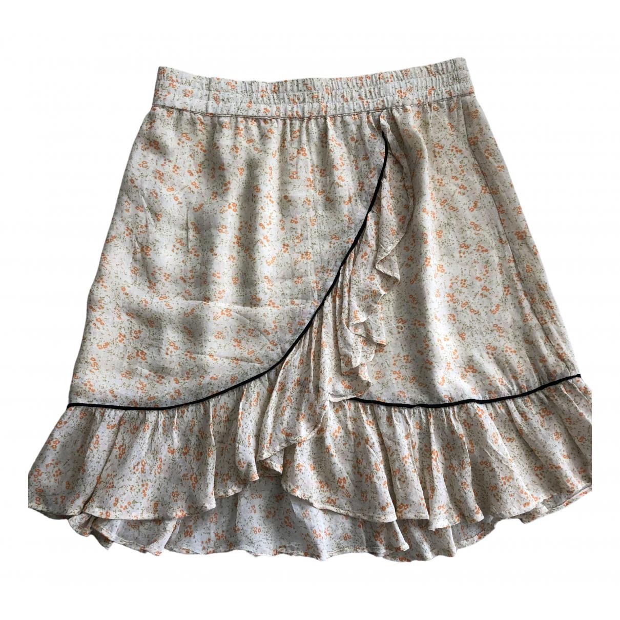 Ganni \N Beige skirt for Women S International