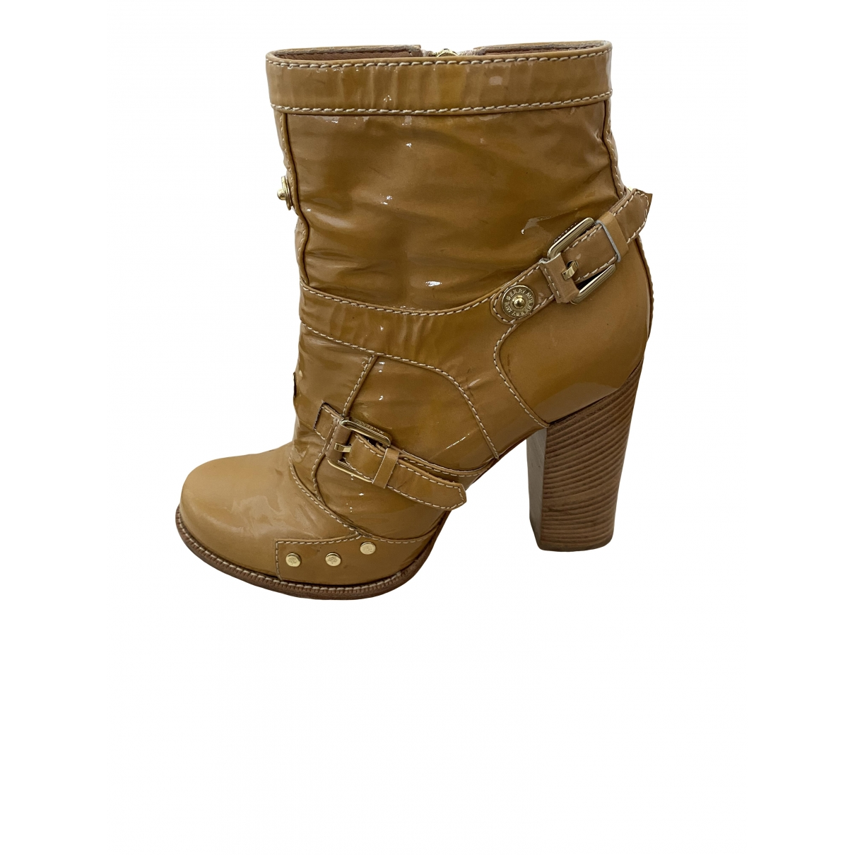 Mulberry \N Leather Ankle boots for Women 39.5 EU