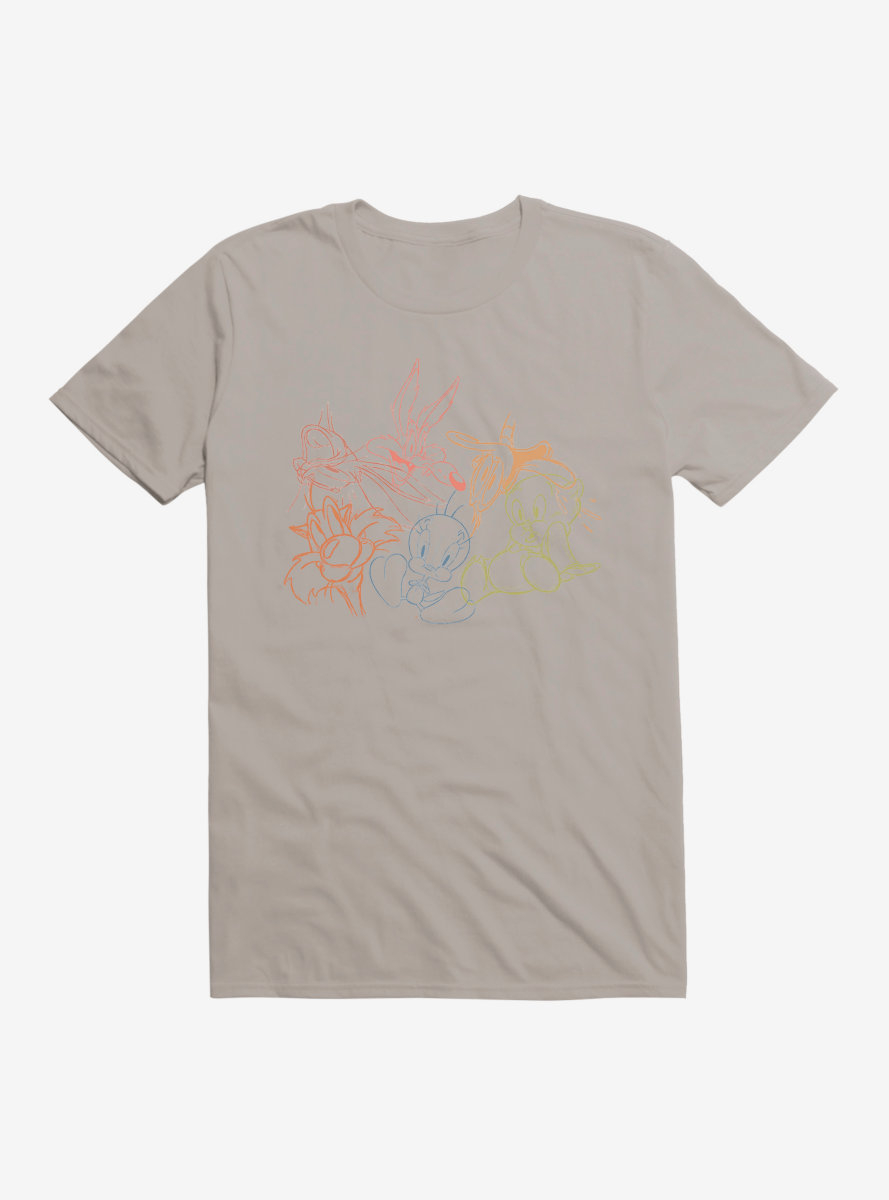 Looney Tunes Character Sketches T-Shirt
