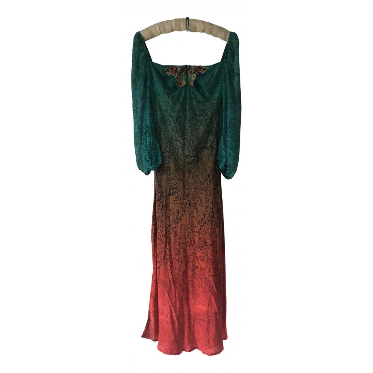 Rixo N Multicolour Silk dress for Women XS International