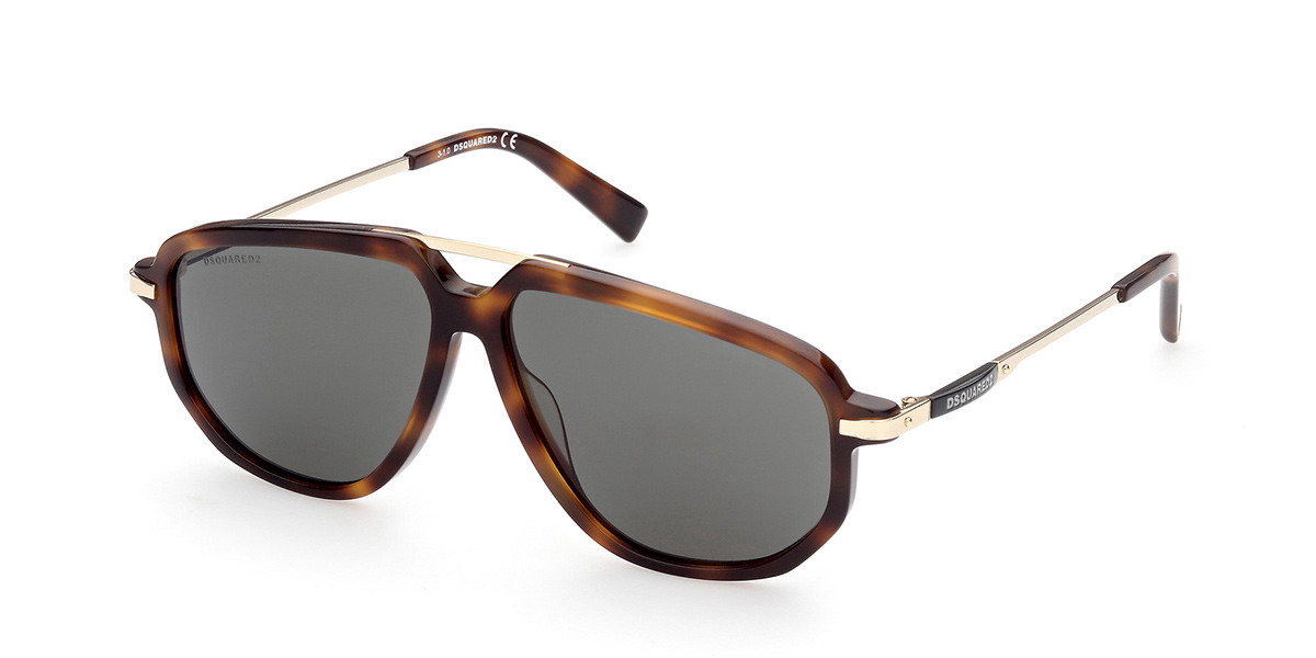 Dsquared2 DQ0364 52N Mens Sunglasses Tortoise Size 59