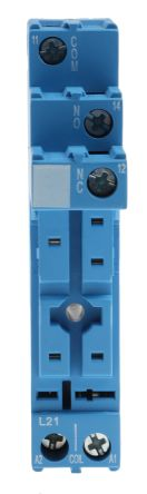 Finder Relay Socket, 250V ac for use with 40.31 Series Relay