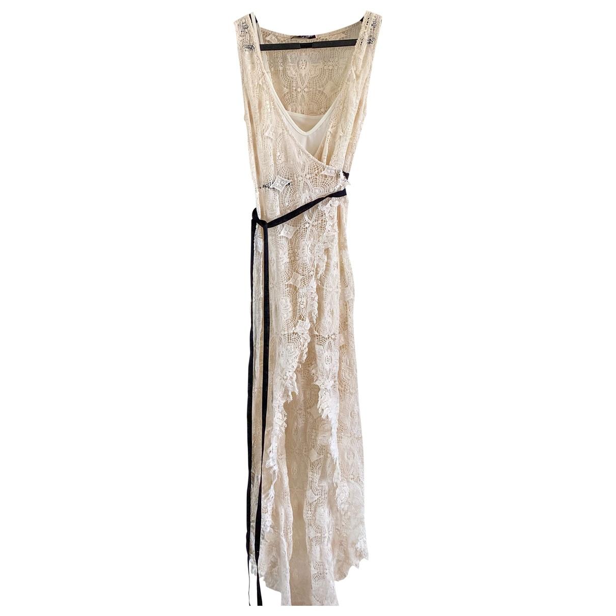 Maxi vestido de Encaje Topshop