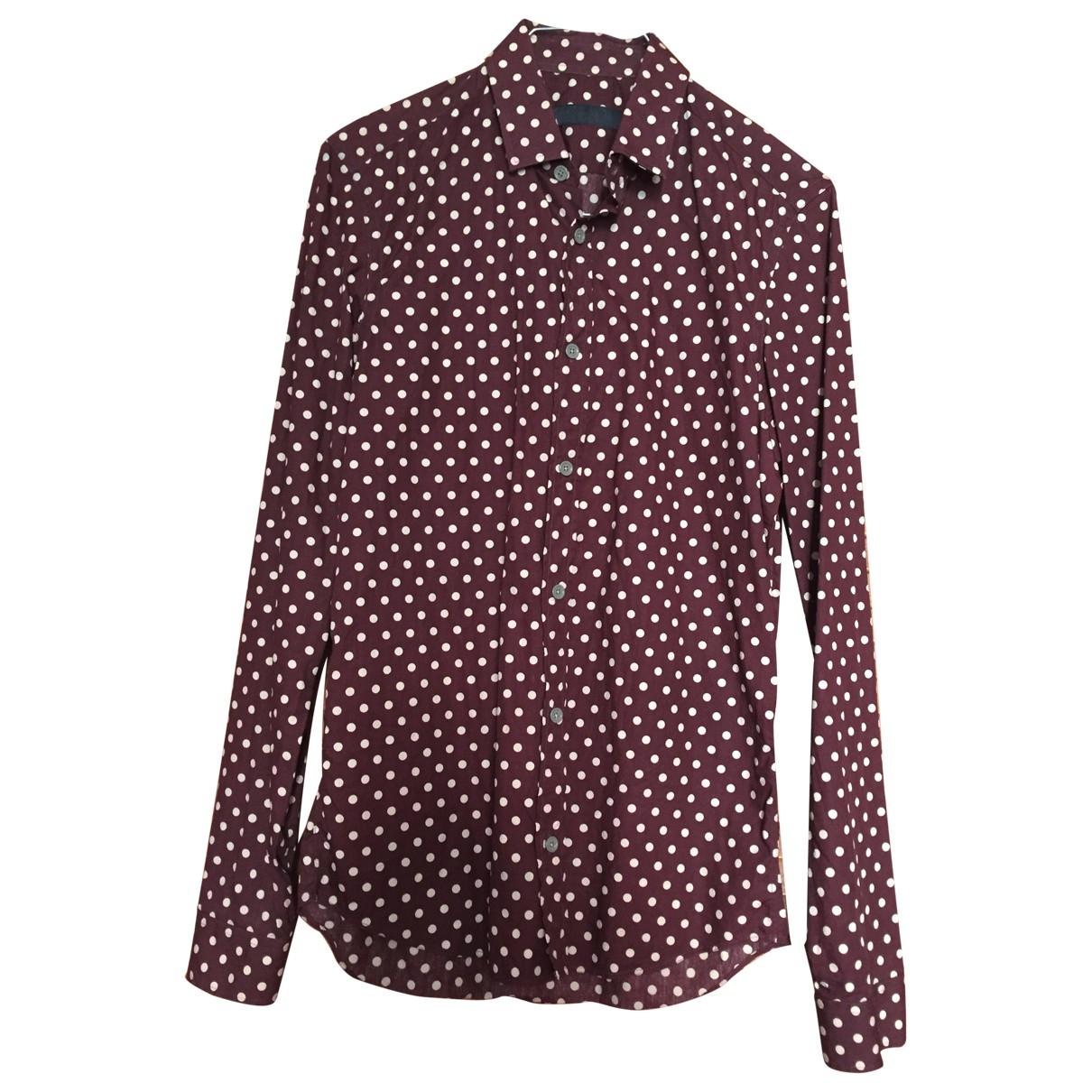 Burberry - Chemises   pour homme en coton - marron