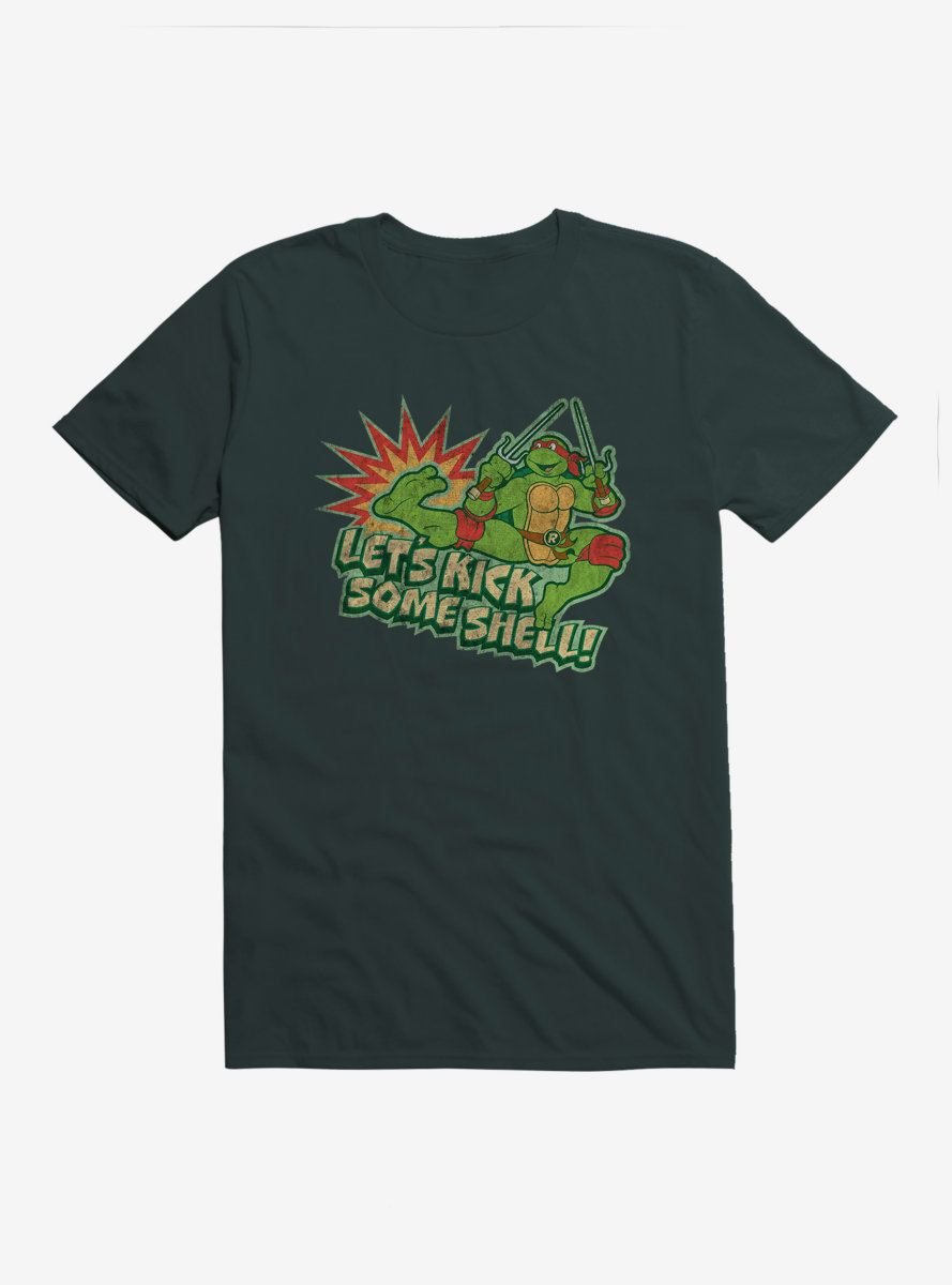 Teenage Mutant Ninja Turtles Kick Some Shell T-Shirt