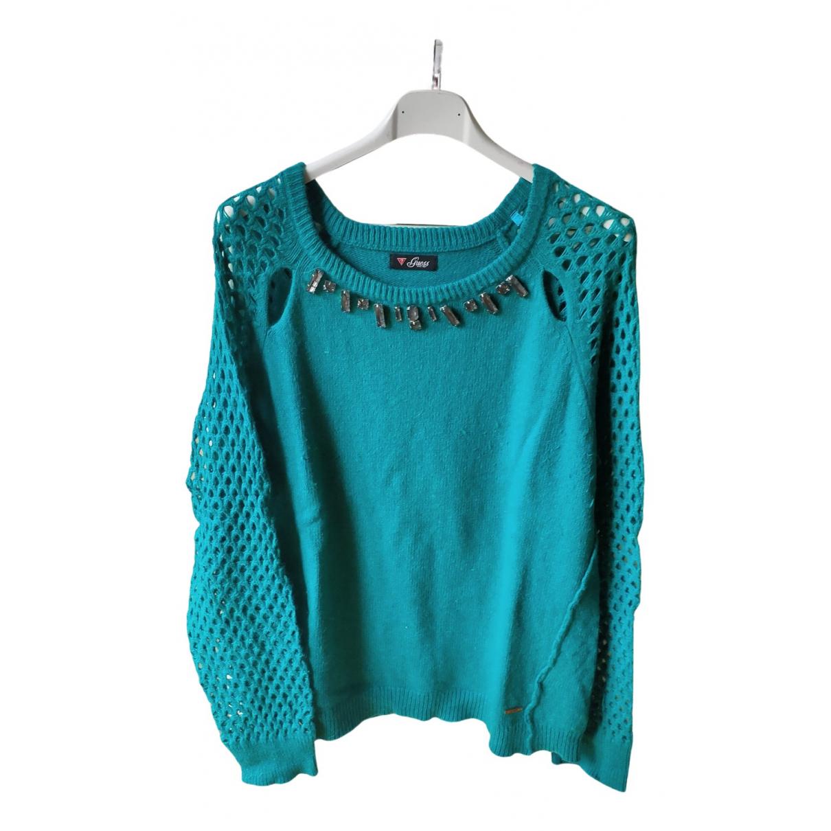 Guess N Green Cotton Knitwear for Women L International