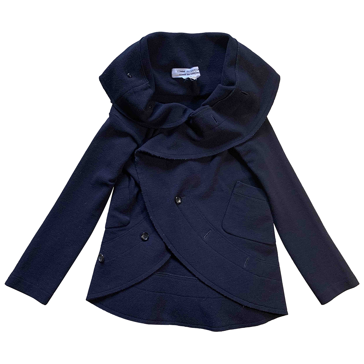 Comme Des Garcons \N Blue Wool jacket for Women S International