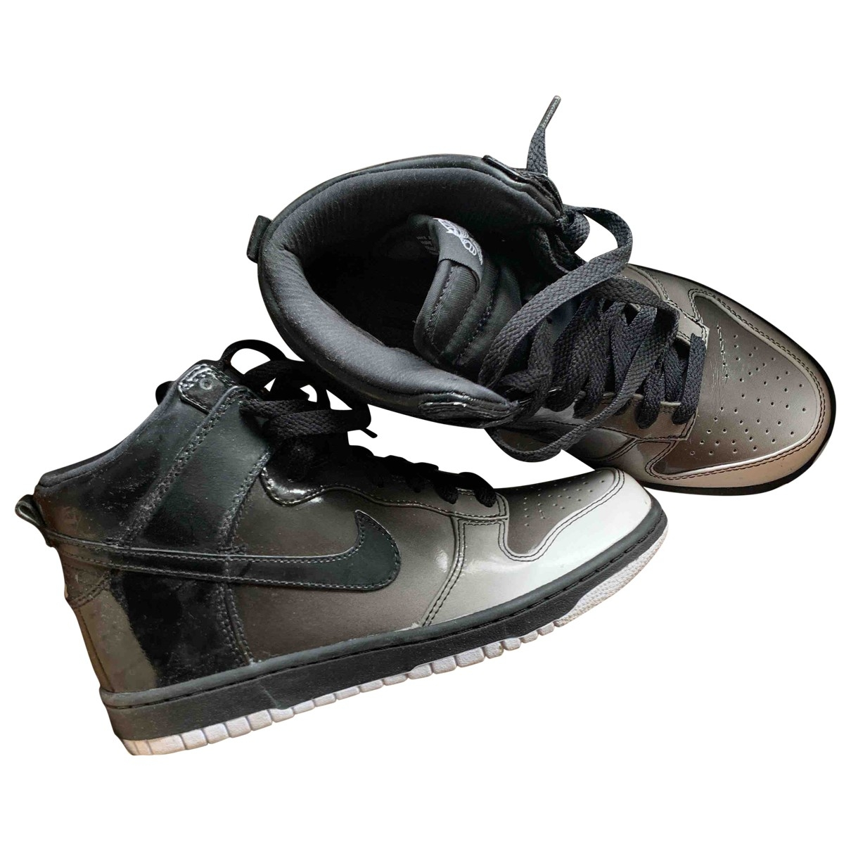 Nike Dunk Sky Black Trainers for Women 38.5 EU