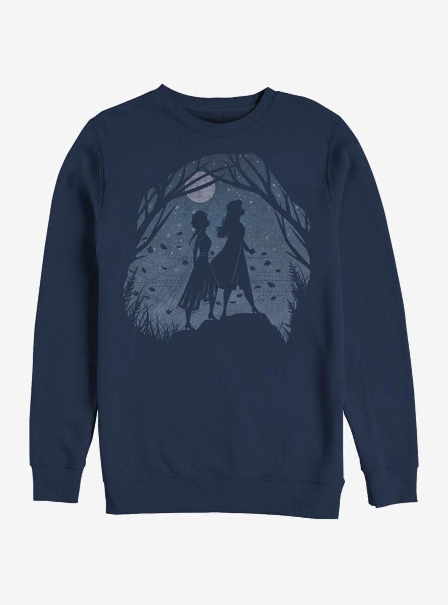 Disney Frozen 2 Night Scenery Sweatshirt