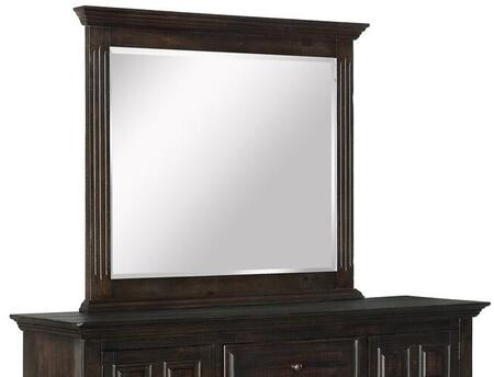 Avondale Collection AV401-M Mirror with Rectangular Shape and Wood Trim in Espresso