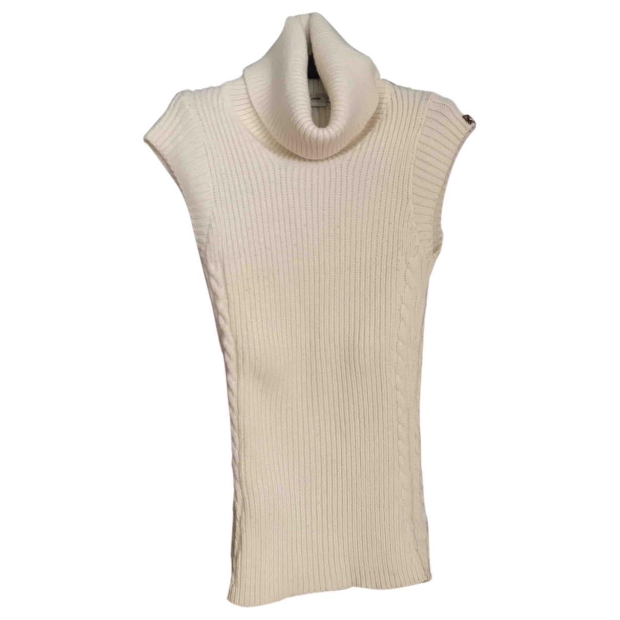Lee - Pull   pour femme en laine - ecru