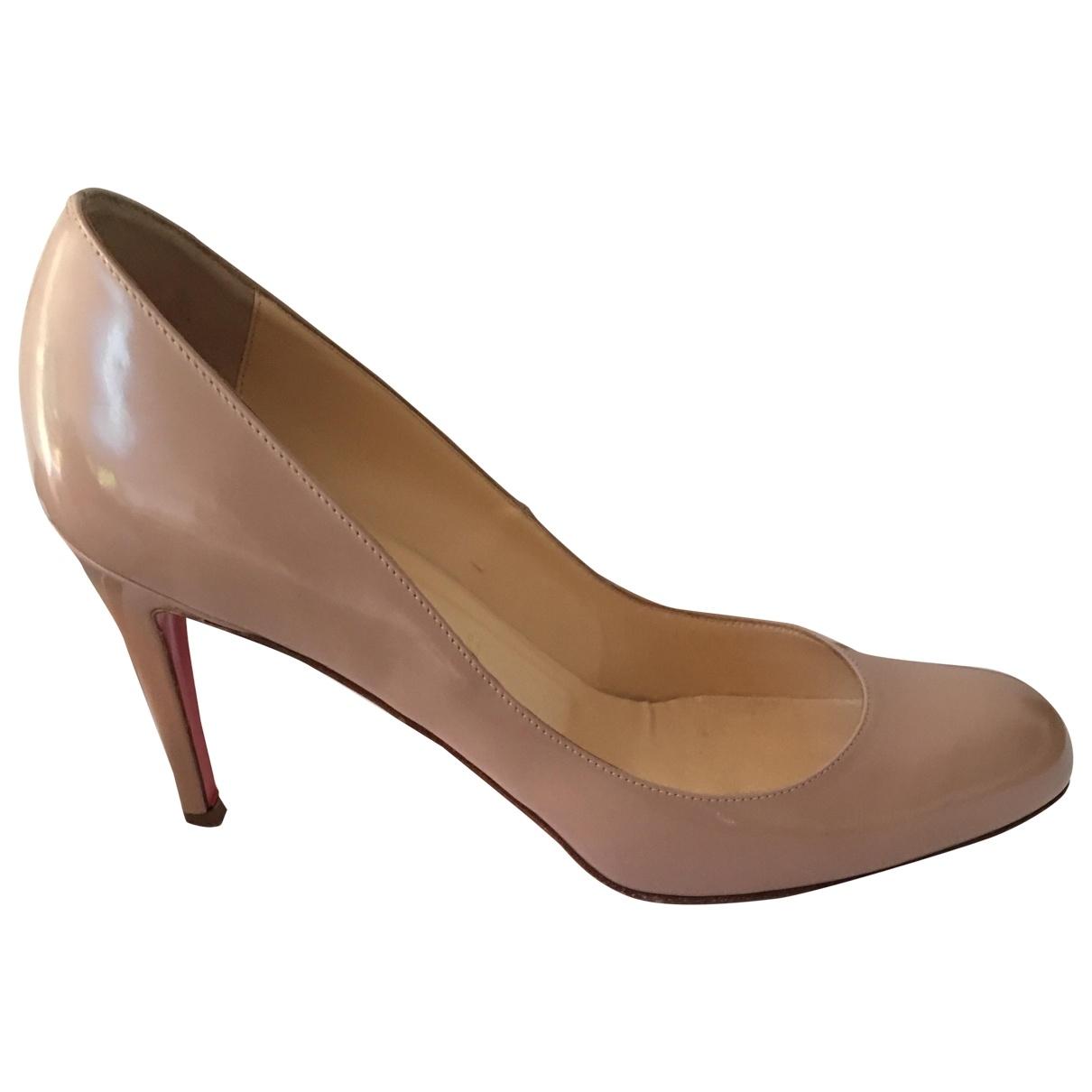 Christian Louboutin Simple pump Patent leather Heels for Women 40 EU