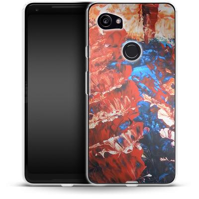 Google Pixel 2 XL Silikon Handyhuelle - Macro 11 von Gela Behrmann