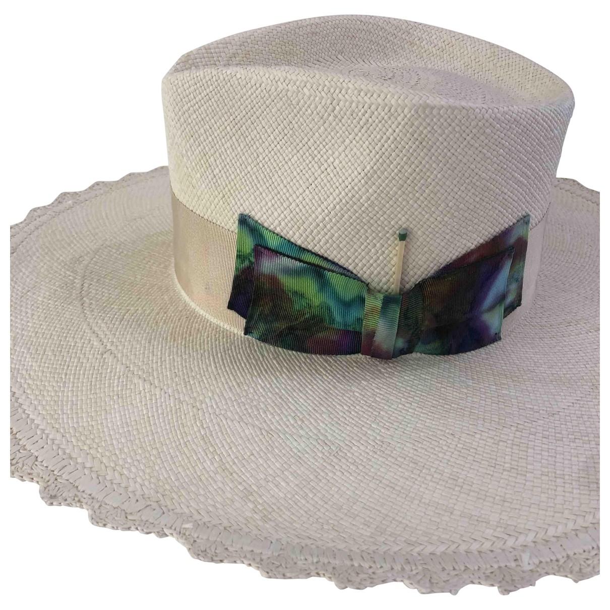 Nick Fouquet \N Beige Wicker hat for Women 55 cm