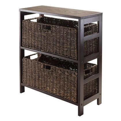 92383 Granville 3pc Storage Shelf with 2 Large Baskets