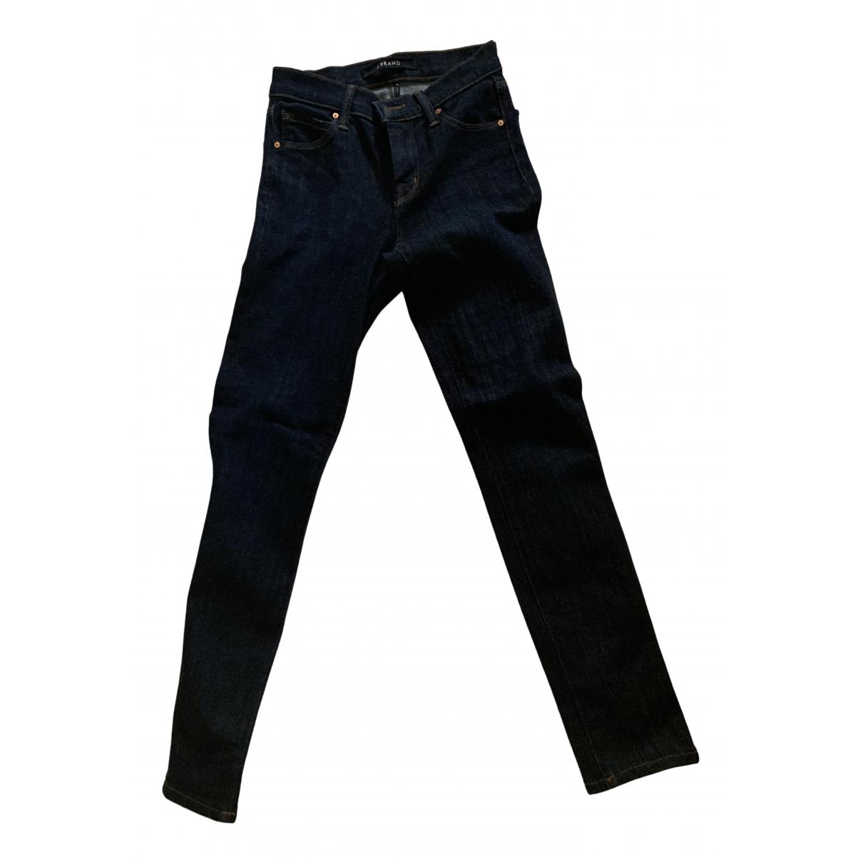 J Brand - Pantalon   pour enfant en denim - bleu