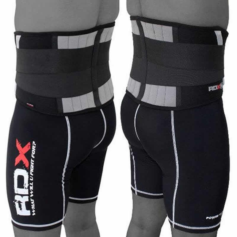RDX X2 Cinturon de Espalda Baja Neopreno Negro Pequeño