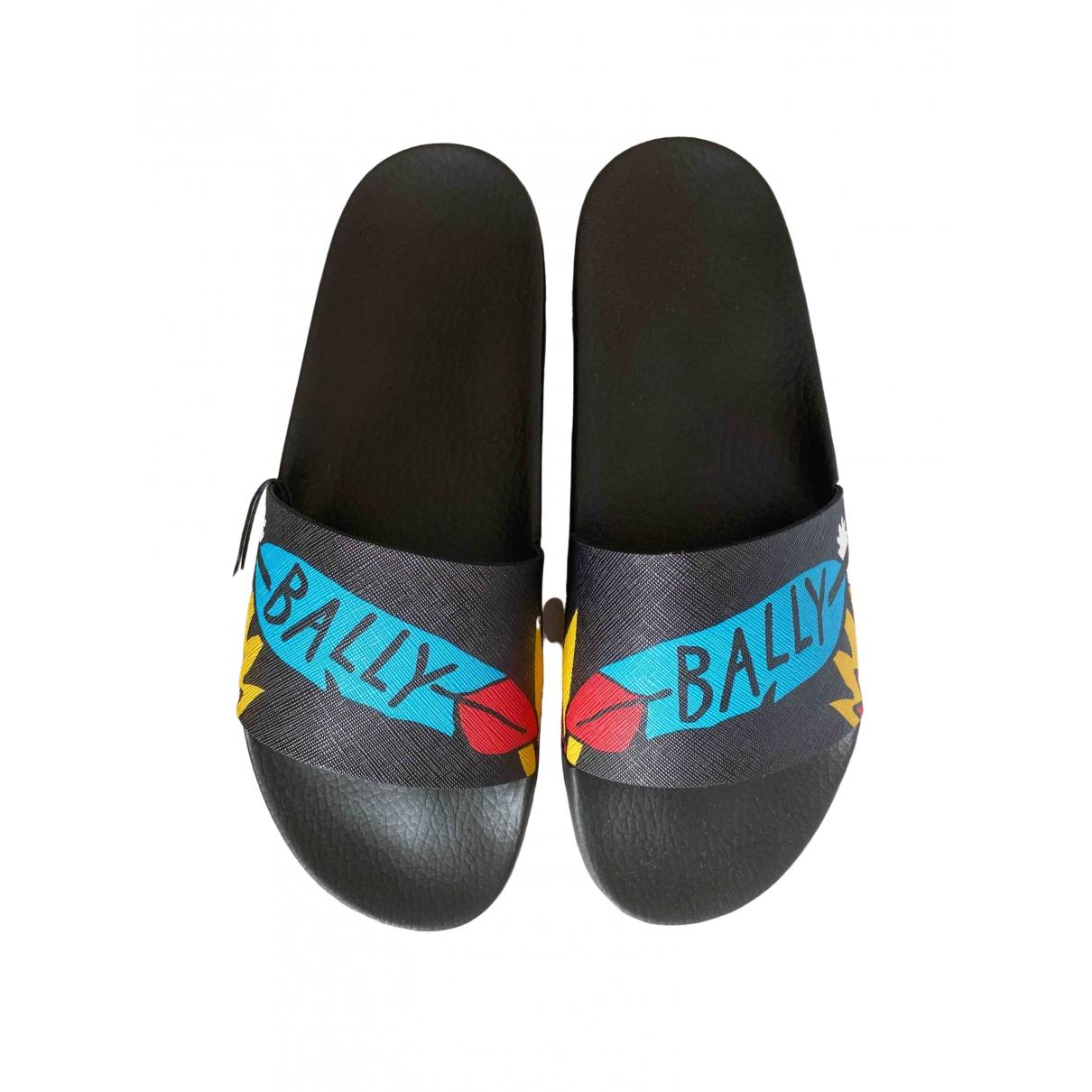 Bally \N Black Rubber Sandals for Men 45 EU
