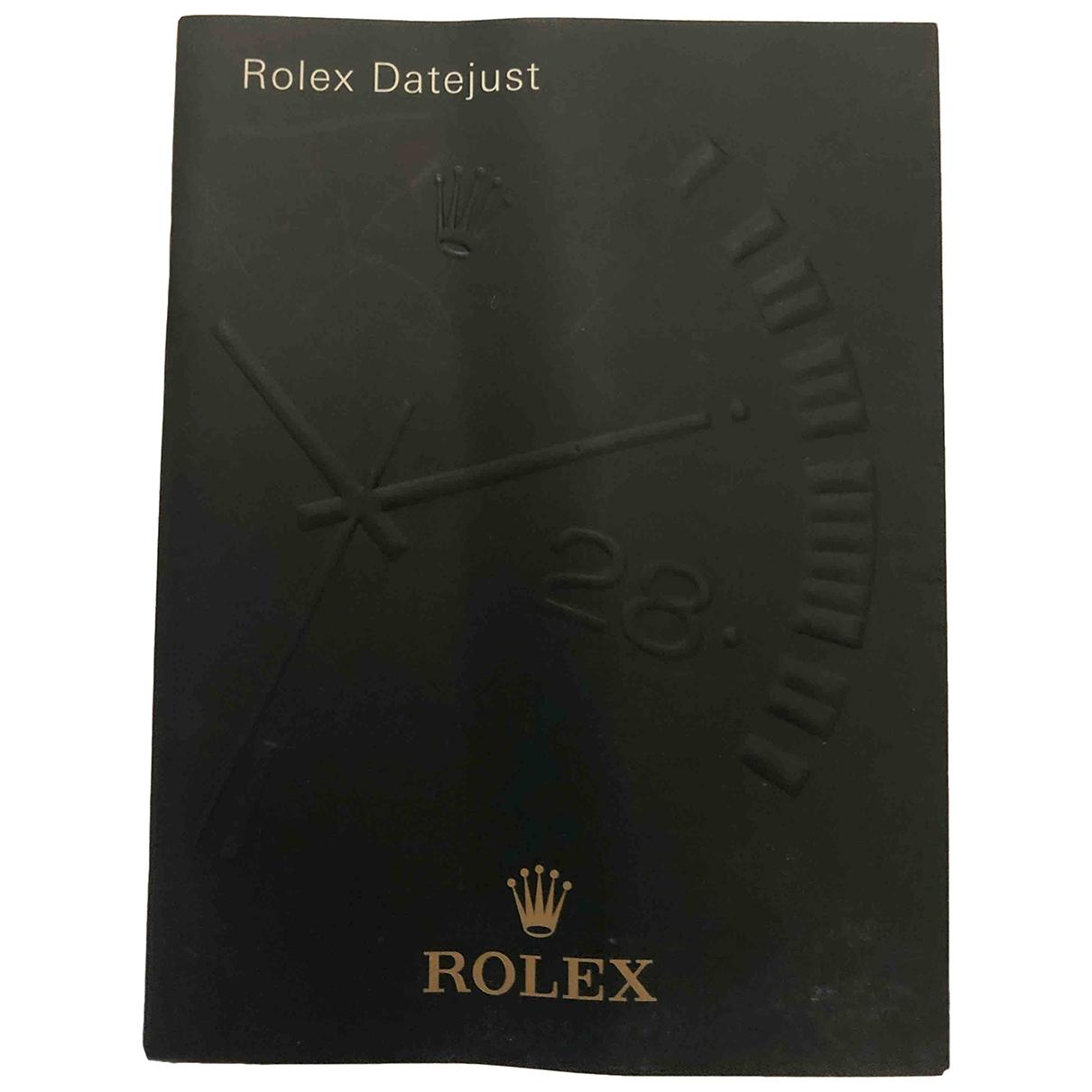 Rolex - Montre   pour homme en acier