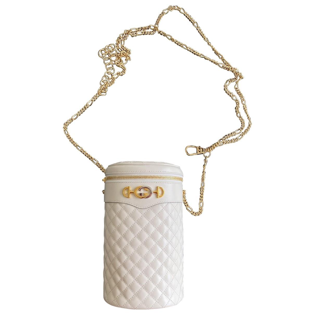 Gucci \N White Leather handbag for Women \N