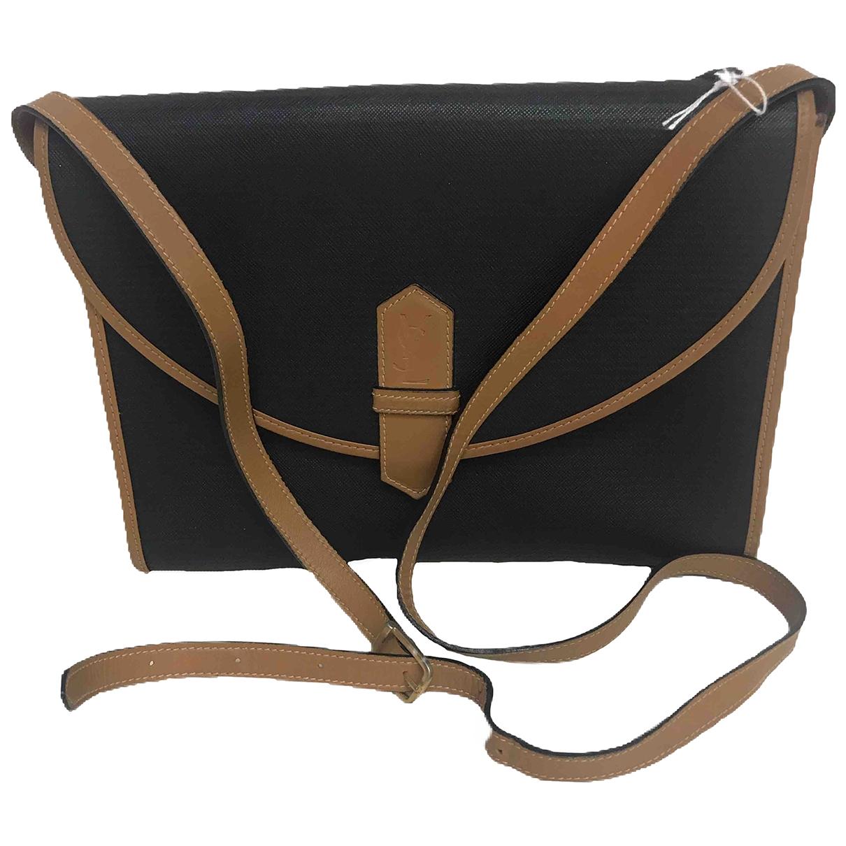 Yves Saint Laurent \N Black Cloth handbag for Women \N