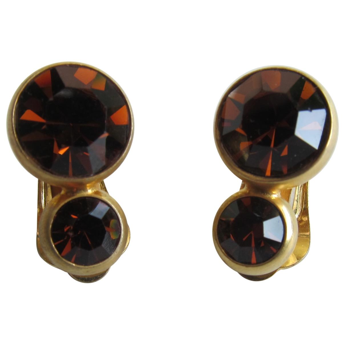 Rena Lange \N Gold Metal Earrings for Women \N
