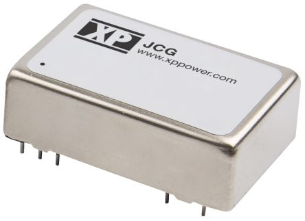 XP Power JCG 12W Isolated DC-DC Converter Through Hole, Voltage in 18 ? 36 V dc, Voltage out 3.3V dc