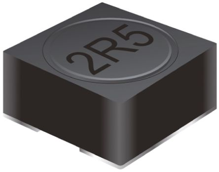 Bourns , SRR6038, 6038 Shielded Wire-wound SMD Inductor with a Ferrite Core, 10 μH ±30% Wire-Wound 2.05A Idc Q:8.8 (10)