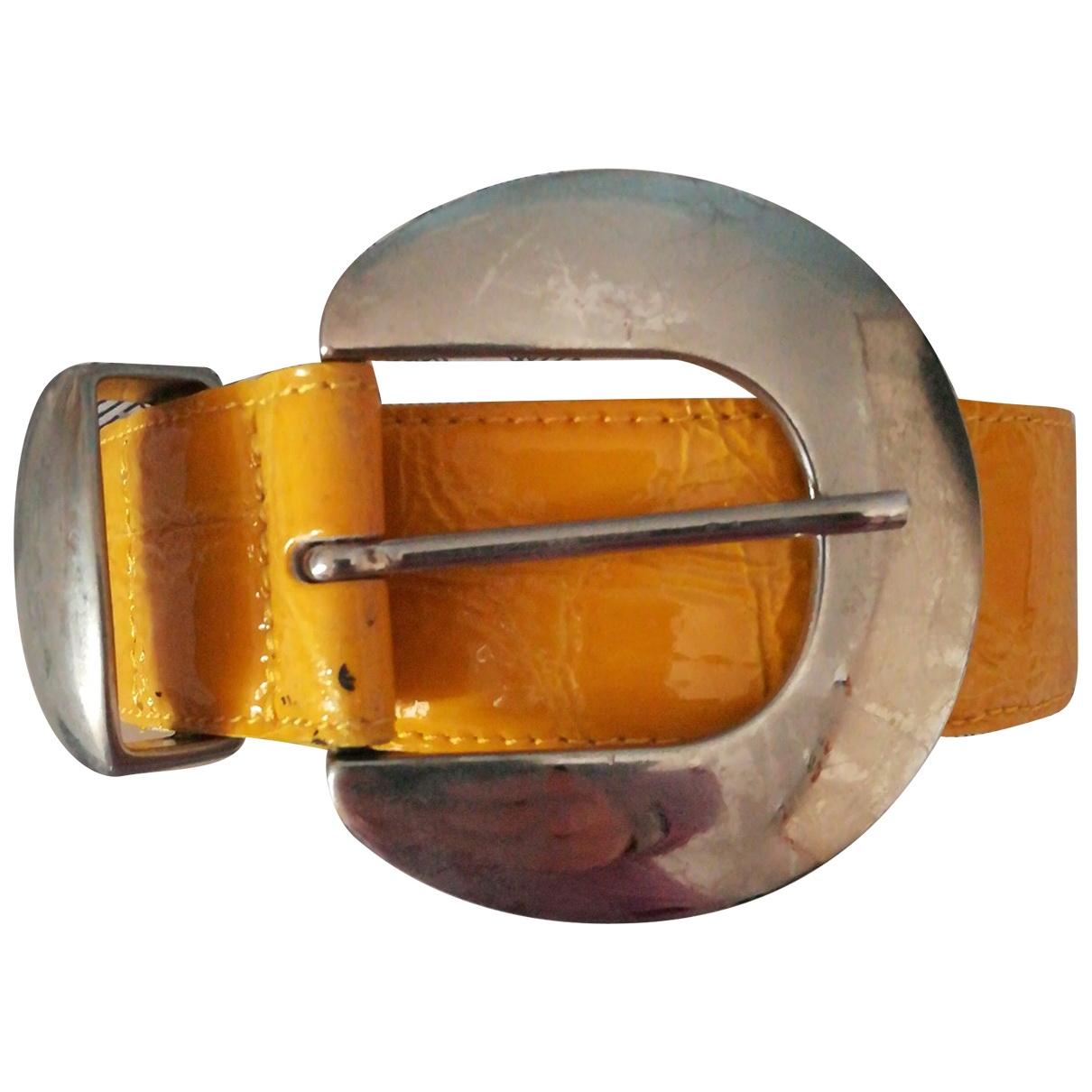 Cinturon de Cuero Tosca Blu