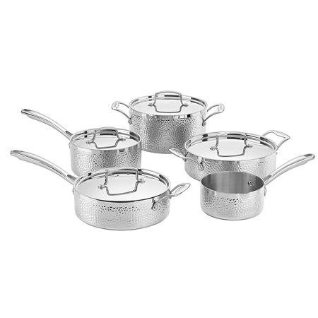 Cuisinart 9-pc. Stainless Steel Cookware Set, One Size , Silver