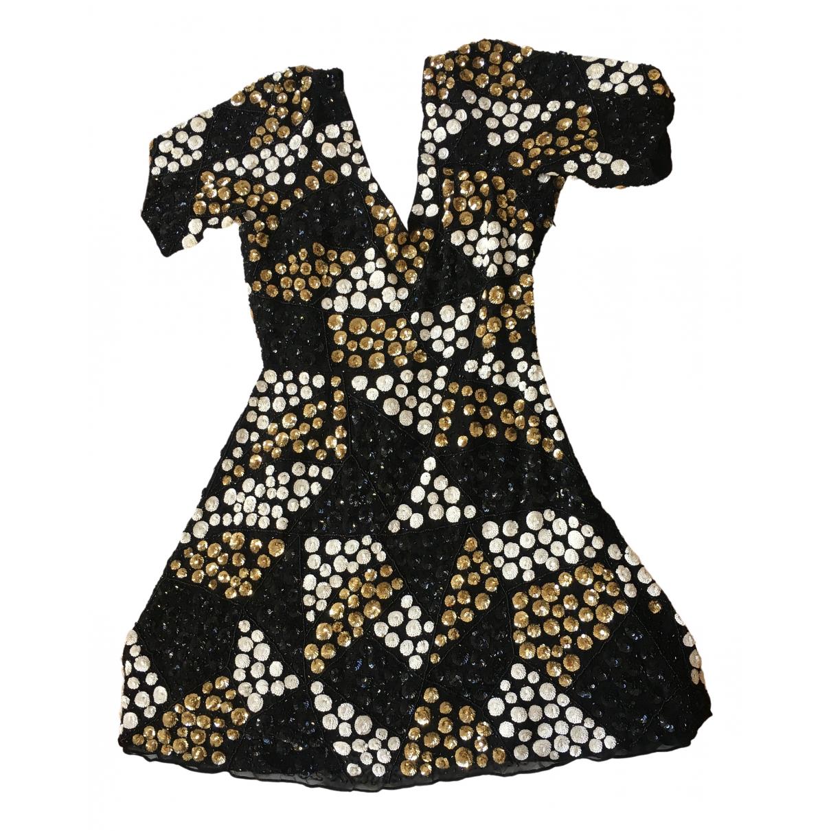 Antik Batik N Black Glitter dress for Women 36 FR