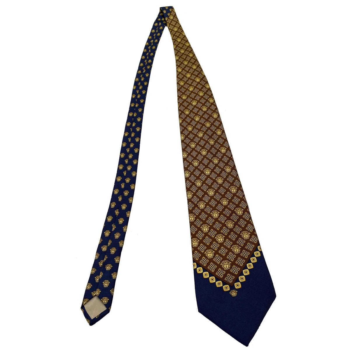 Gianni Versace \N Gold Silk Ties for Men \N