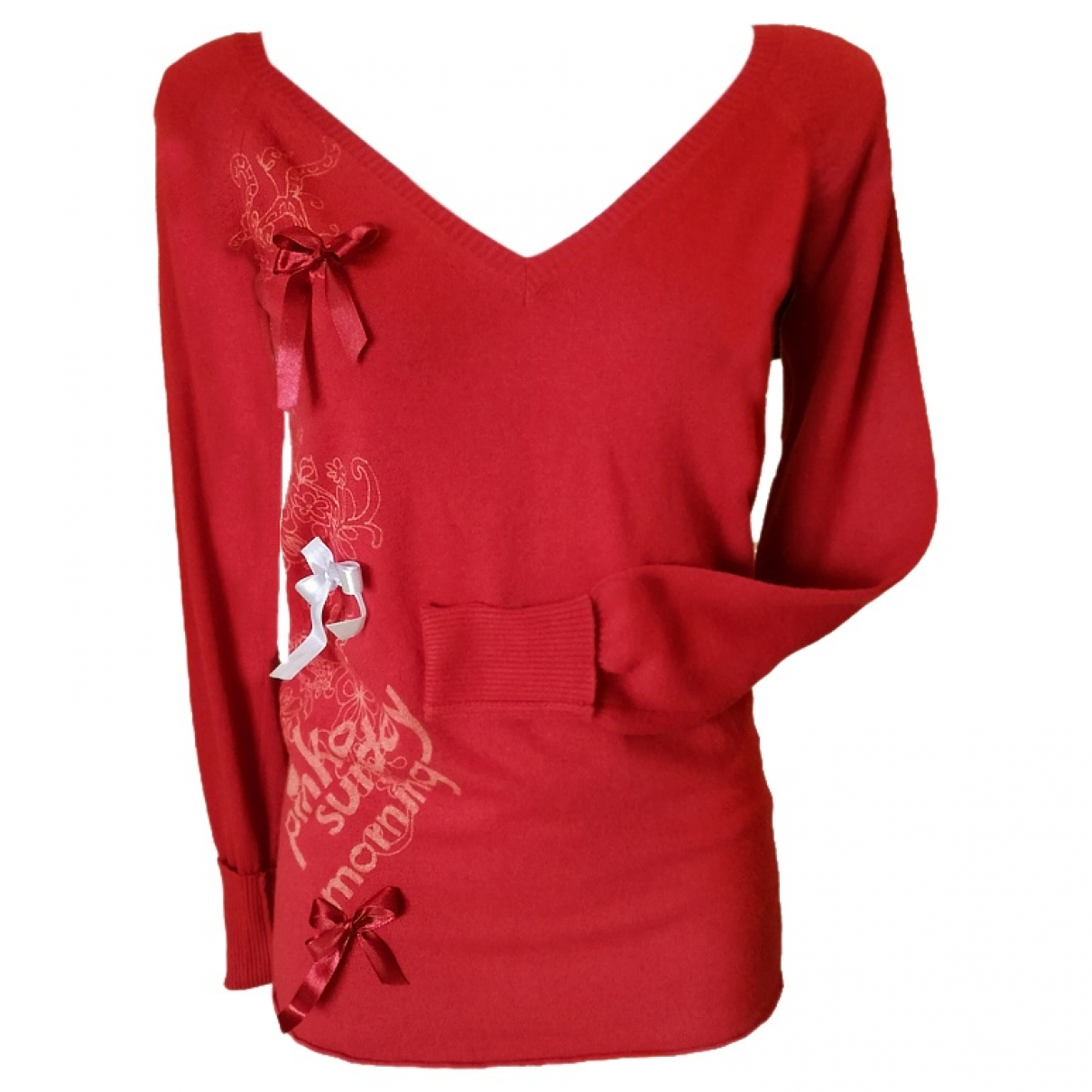 Pinko - Pull   pour femme - rouge